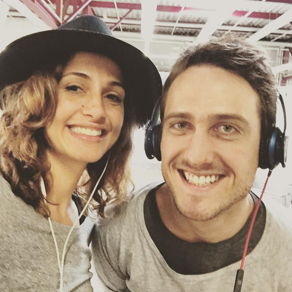 Camila Pitanga e Igor Angelkorte em foto de 2015: os dois namoraram por dois anos — Foto: Reprodução/Instagram