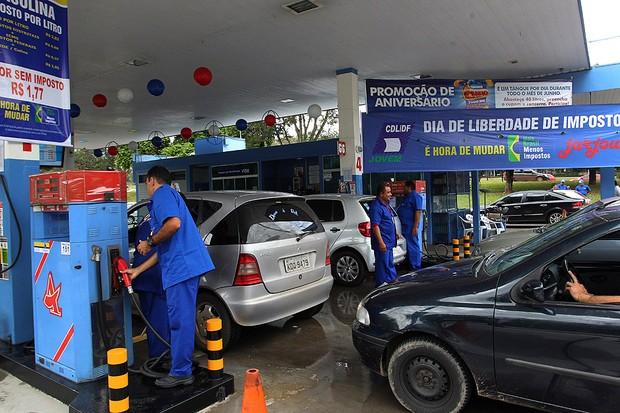 Posto de combustível (Foto: Agência O Globo)