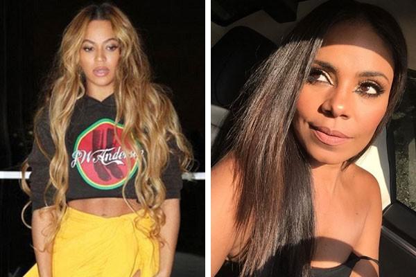 Beyoncé e Sanaa Lathan (Foto: Reprodução/Instagram)