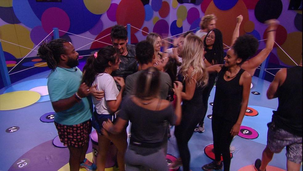 Carolina é a nova Líder do BBB19 — Foto: TV Globo