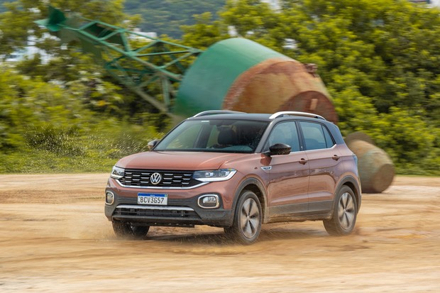 Volkswagen T-Cross 1.4 Highline First Edition (Foto: Marcos Camargo / Autoesporte)