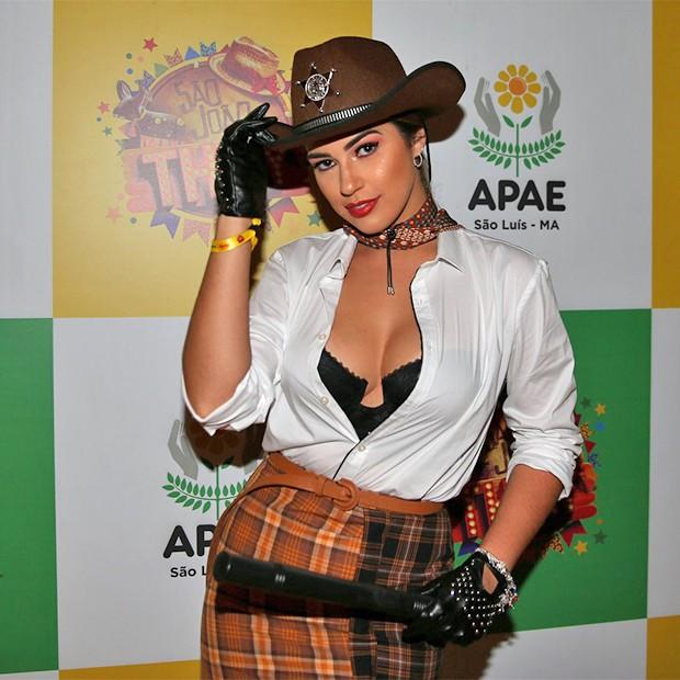 Vivian Amorim (Foto: Denilson Santos e Dilson Silva/AgNews)