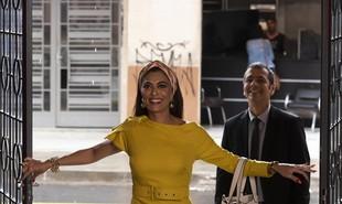 Na segunda-feira (18), Maria da Paz (Juliana Paes) retomará o comando de sua fábrica | Cesar Alves/ TV Globo
