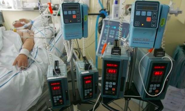 Foto de um paciente de hospital