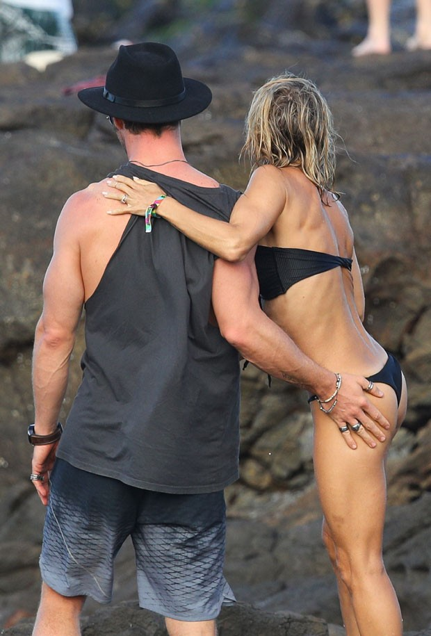Chris Hemsworth e Elsa Pataky (Foto: Grosby Group)