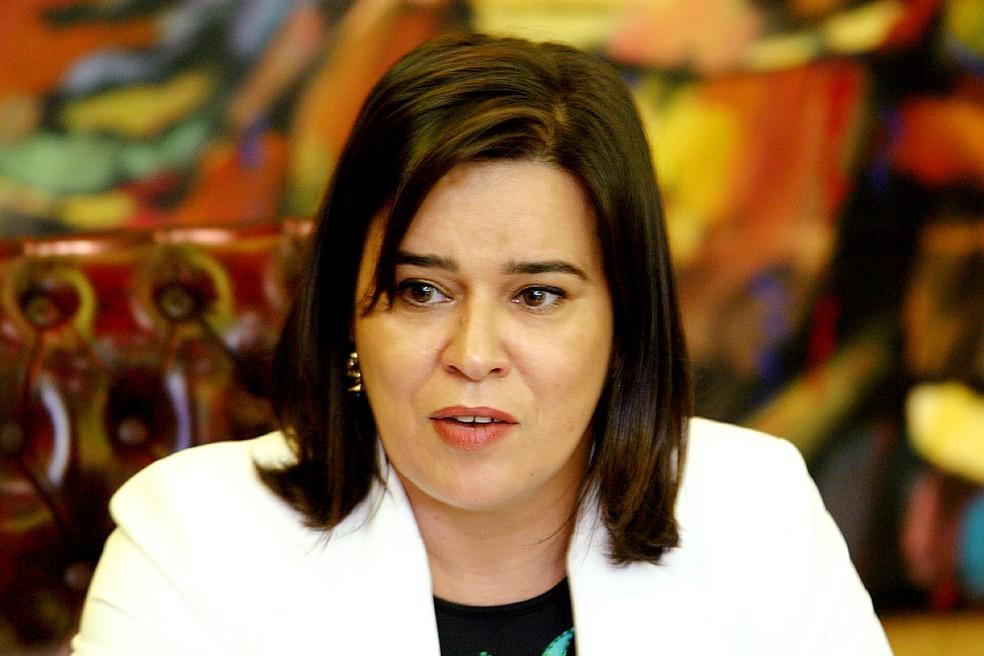 raci Araújo Moreira, tomou posse como governadora após substituir o ex-governador Blairro Maggi em 2004 — Foto: Governo MT/Reprodução
