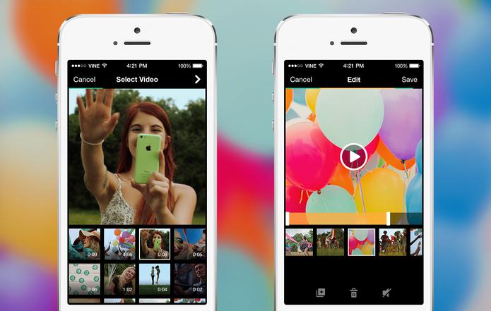 Vine ganha recursos de edição e permite importar vídeos no Android  (Foto: Reprodução/Vine)