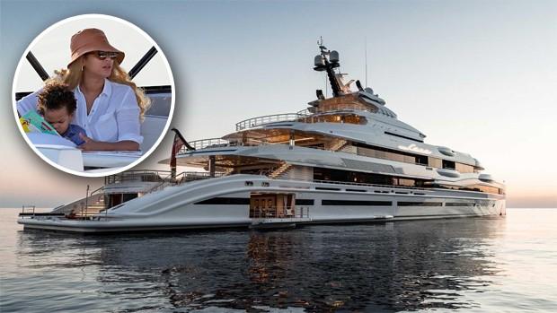 Beyoncé aluga iate milionário. | JOÃO BIOTT