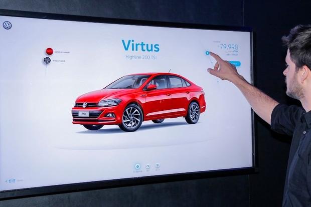 Loja digital da Volkswagen (Foto: Divulgação)