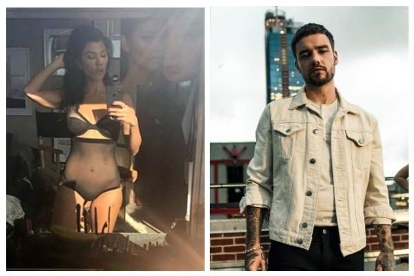 Kourtney Kardashian e Liam Payne (Foto: Instagram)