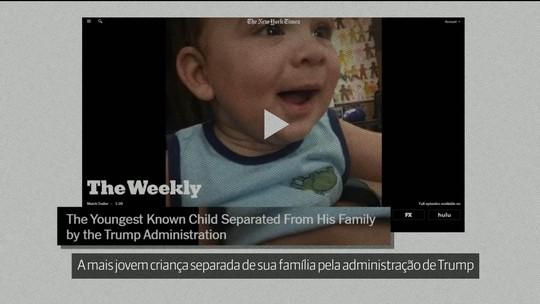 EUA: bebê de 4 meses é a criança mais nova afastada dos pais