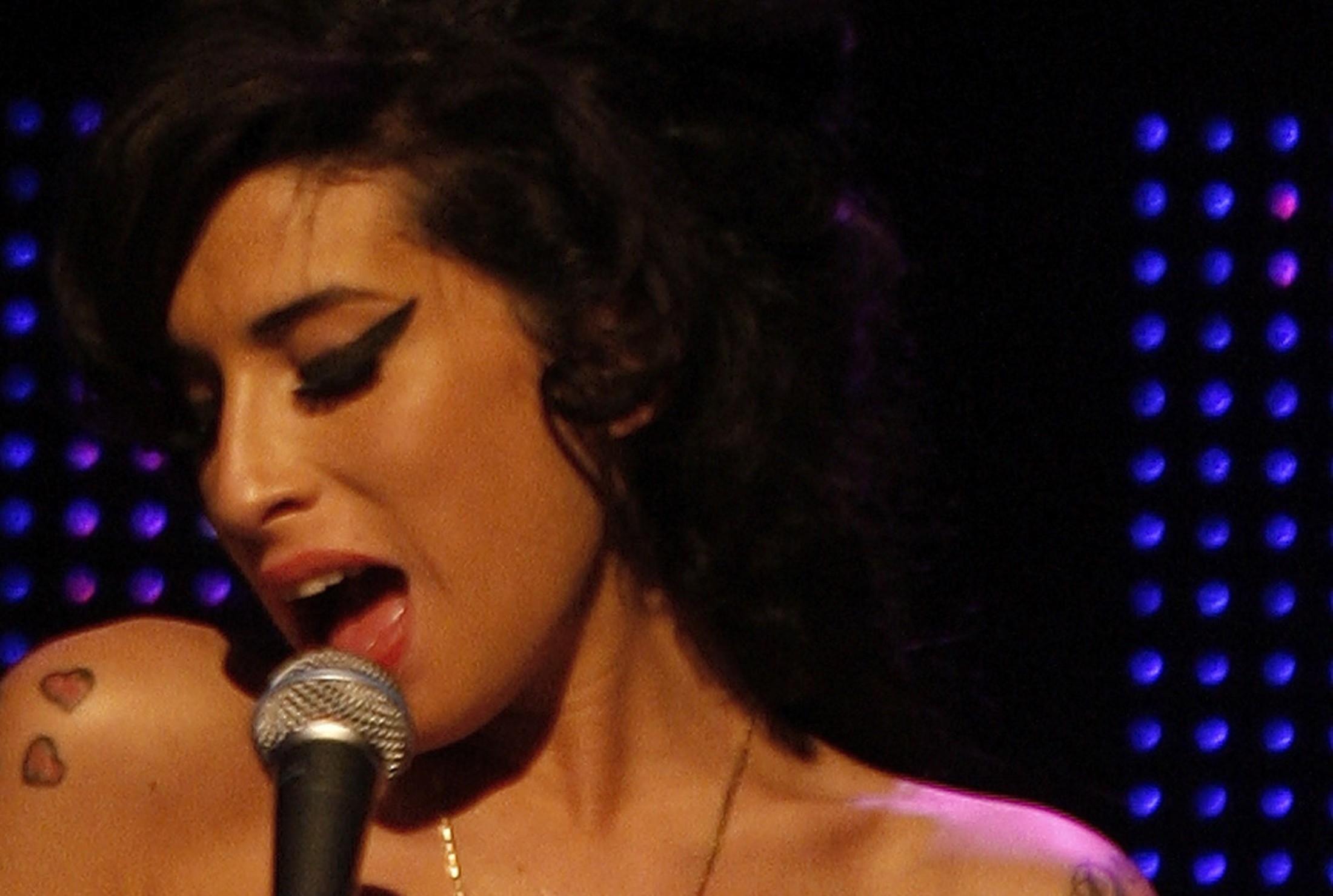 Amy Winehouse, em foto de 2007
