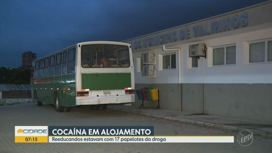 Grupo de reeducandos é levado para DP de Valinhos após Guarda achar cocaína em alojamento
