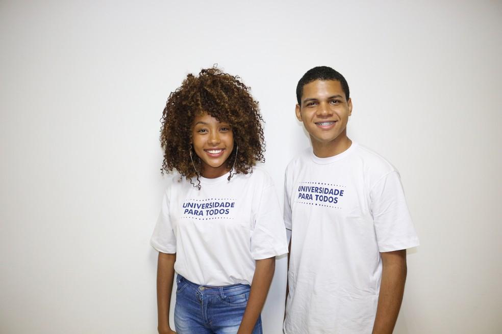 Estudantes do Programa Universidade Para Todos na Bahia — Foto: Suami Dias/Secretaria de Educação da Bahia