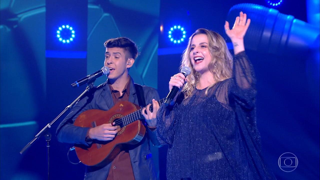 Luana Marques e Sérgio Dorneles cantam 'Luar do Sertão'