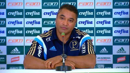 """Após goleada, Roger não vê Palmeiras favorito: """"Agora começa 0 a 0 de novo"""""""
