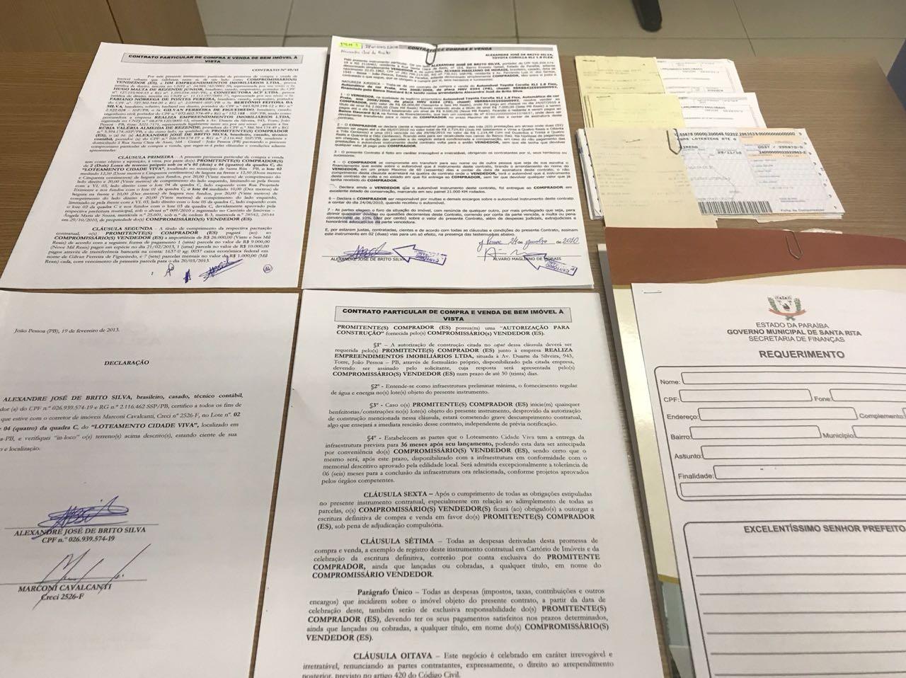 Operação investiga fraudes na negociação de imóveis por estrangeiros, na Paraíba