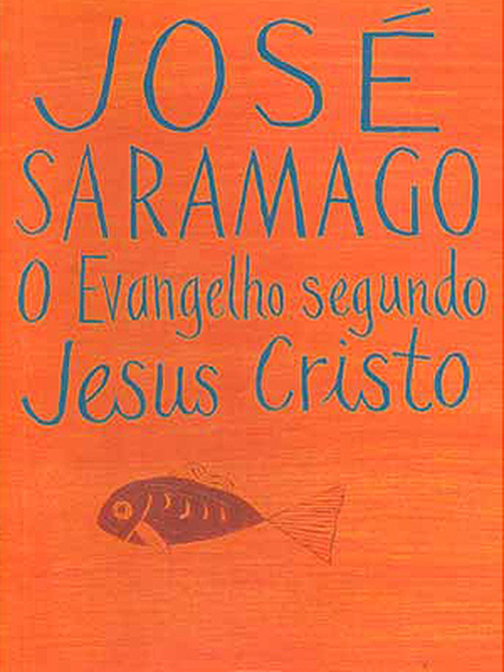 Detalhe da capa de 'O Evangelho segundo Jesus Cristo', importante obra de José Saramago. (Foto: Divulgação)