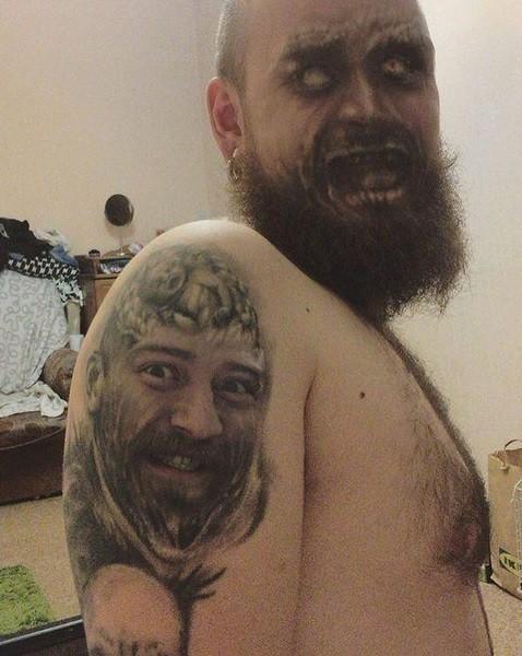 Assustador resultado do FaceSwap