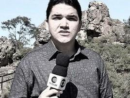 Clube se despede de repórter morto aos 24: 'Vá em paz, amigo' (Reprodução)