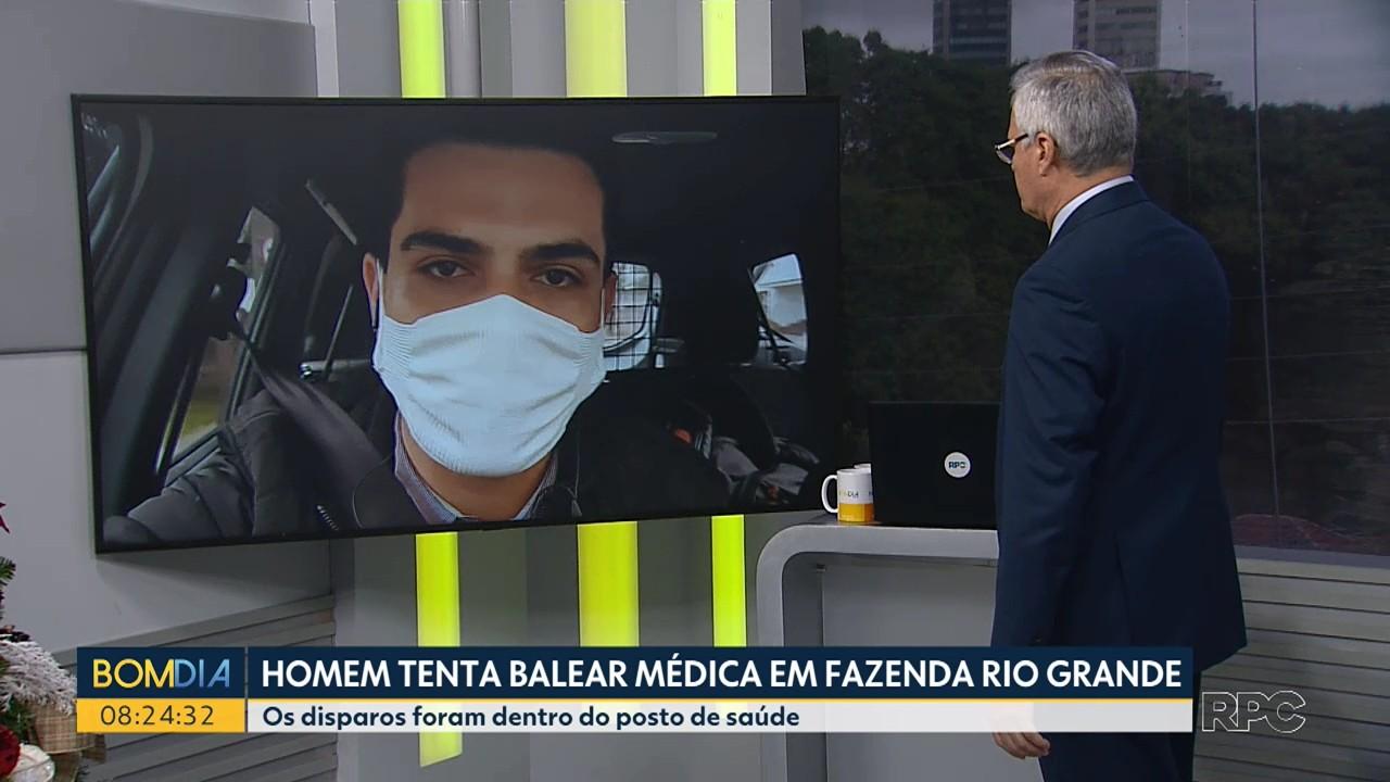 Homem tenta balear médica em posto de saúde