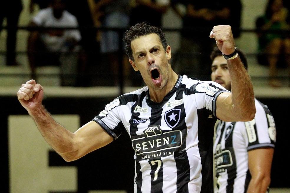 O Botafogo, de Lorena, disputará a Superliga Masculina — Foto: Vítor Silva/ SS Press/ BFR