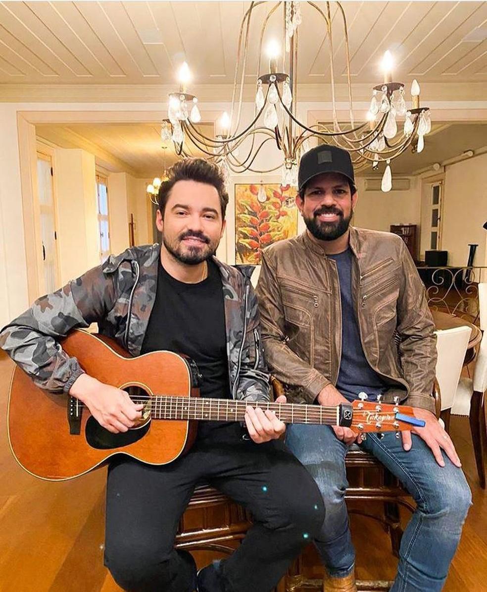 Fernando e Sorocaba falaram de vida profissional e pessoal em conversa com o Gshow — Foto: divulgação