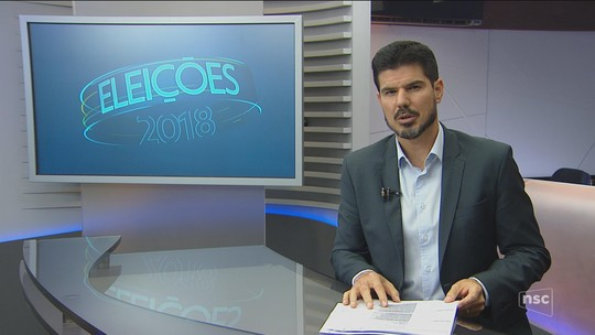Veja a agenda dos candidatos ao governo de SC nesta sexta-feira (14)