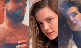 Desde que o Twitter anunciou que encerrará o Fleet, ferramenta similar aos stories do Instagram, internautas passaram a postar fotos sensuais e até mesmo nudes no recurso. Famosos acabaram entrando na brincadeira. Confira:  | Reprodução