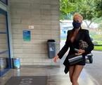 Xuxa nos estúdios Globo nesta sexta-feira | Arquivo pessoal