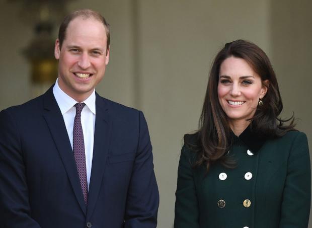 William e Kate esperam pelo terceiro bebê  (Foto: Reprodução/Twitter )