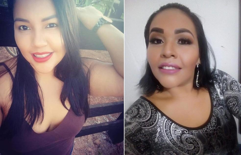 Gésica Espinosa, de 32 anos (à esquerda) e Geisibel Espinosa, de 37 anos (à direita) morreram vítimas da Covid-19 em Mato Grosso — Foto: Arquivo pessoal