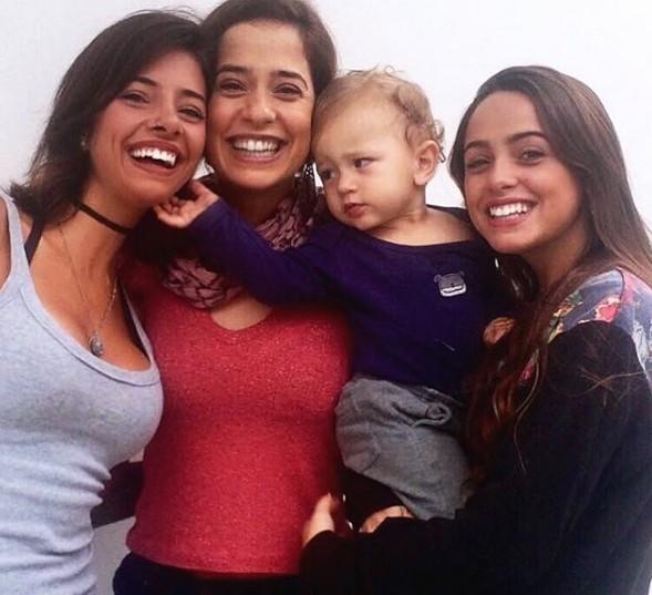 Paloma Duarte com os filhos (Foto: Reprodução Instagram)