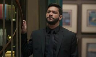 Na segunda (16), Diogo mostrará um vídeo falso para Alberto (Antonio Fagundes), com Sinistro (Marcos Junqueira) confessando que foi Paloma (Grazi Massafera) quem deu a ideia do assalto à mansão | TV Globo