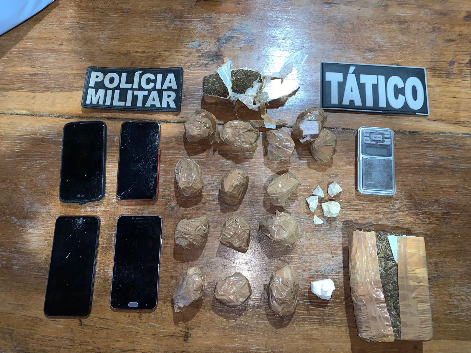 Suspeito é preso com 2 quilos de cocaína em Concórdia do Pará