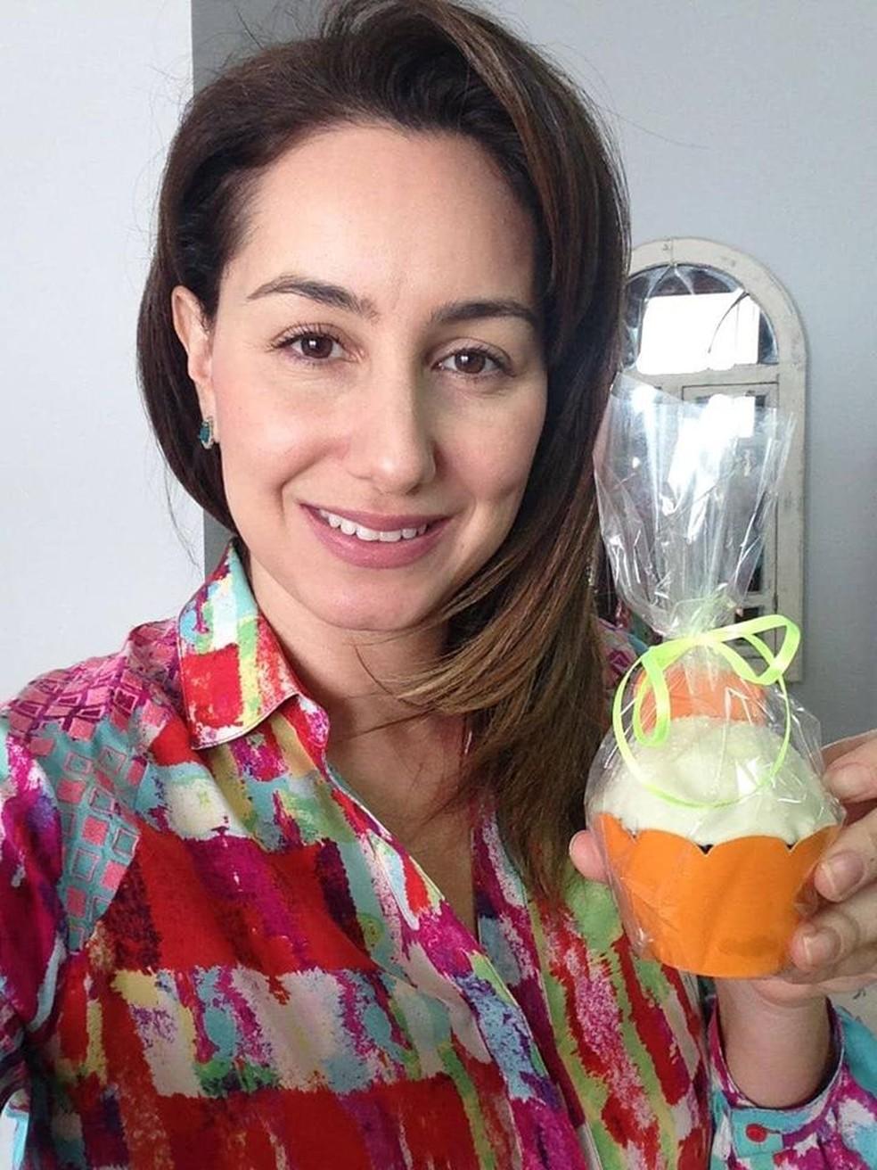 Ana Angélica abriu a empresa no ramo de doces e chocolates e já celebra crescimento no faturamento (Foto: Ana Angélica Alves/Arquivo Pessoal)