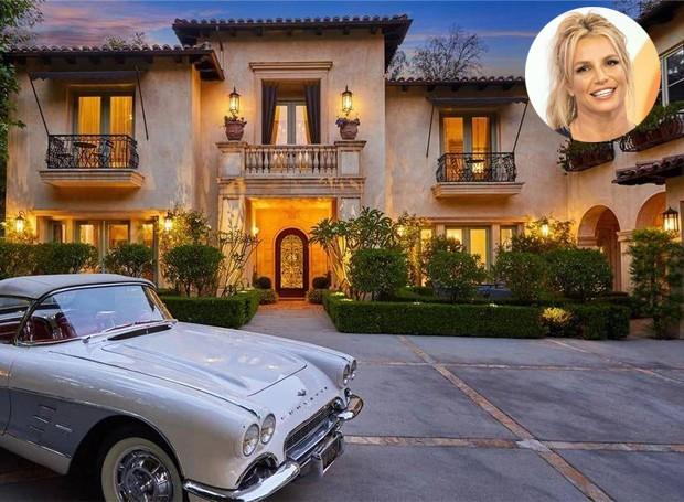 Brtiney vendeu a casa em 2012 por mais de 2 milhões de dólares. Hoje, a propriedade está da venda por quase 9 milhões (Foto: The MLS/ Reprodução)