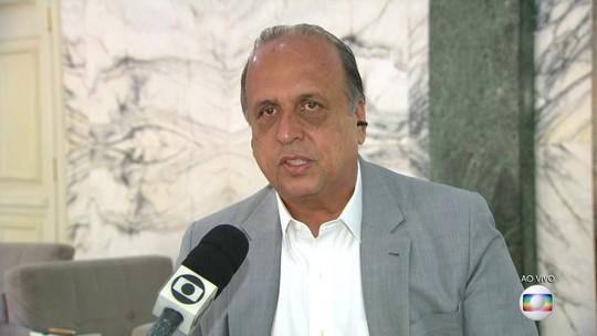 Pezão diz que vetou ação na Rocinha para evitar morte de inocentes