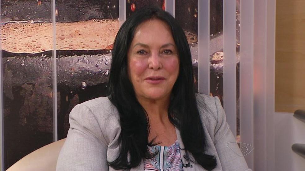 Candidata Rose de Freitas (Foto: Reprodução/TV Gazeta)