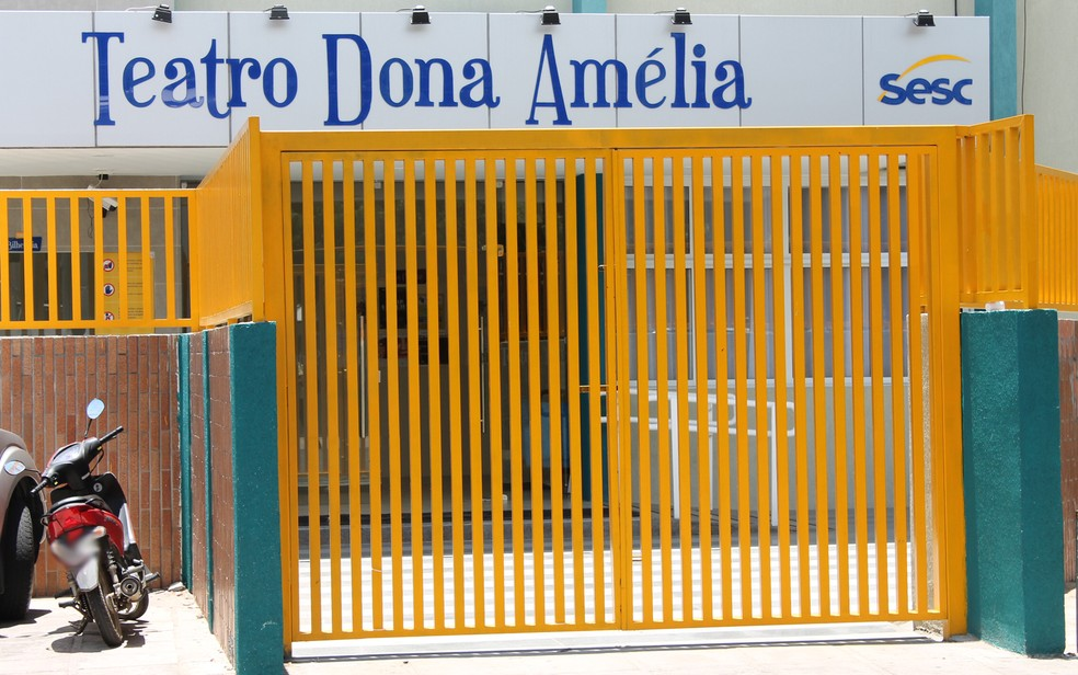 Teatro Dona Amélia no Sesc em Petrolina — Foto: Larissa Paim/G1