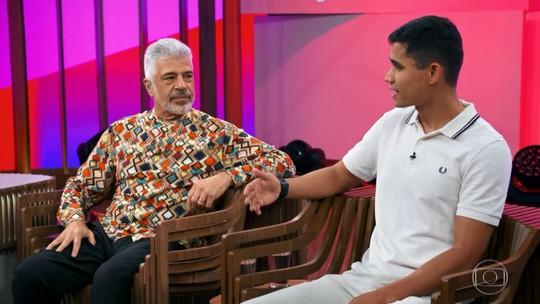 Lulu Santos revela preconceito social contra marido: 'Ele é um menino do interior'