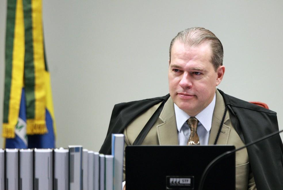 Ministro Dias Toffoli defendeu, em audiência pública no STF, que a convivência entre pessoas com e sem deficiência traz benefícios para todos — Foto: Nelson Jr./SCO/STF