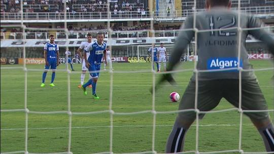 Melhores momentos: Santos 1 x 3 São Bento pelo Campeonato Paulista