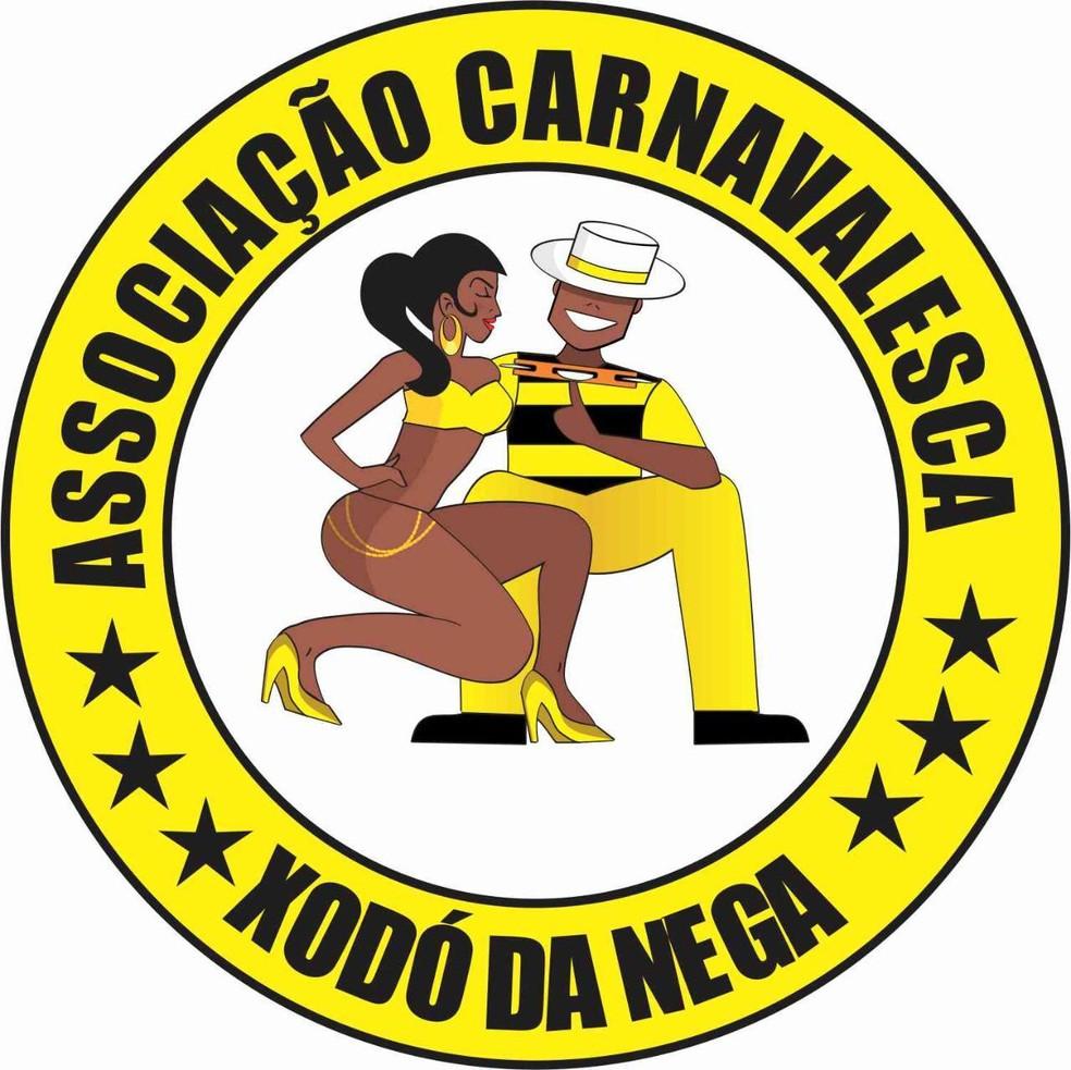 Associação Carnavalesca Xodó da Nega — Foto: Reprodução