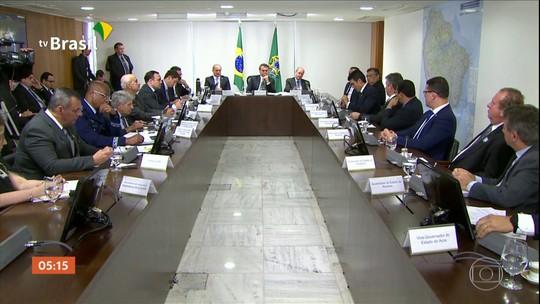 Governadores que integram a Amazônia Legal defendem que Brasil aceite ajuda internacional