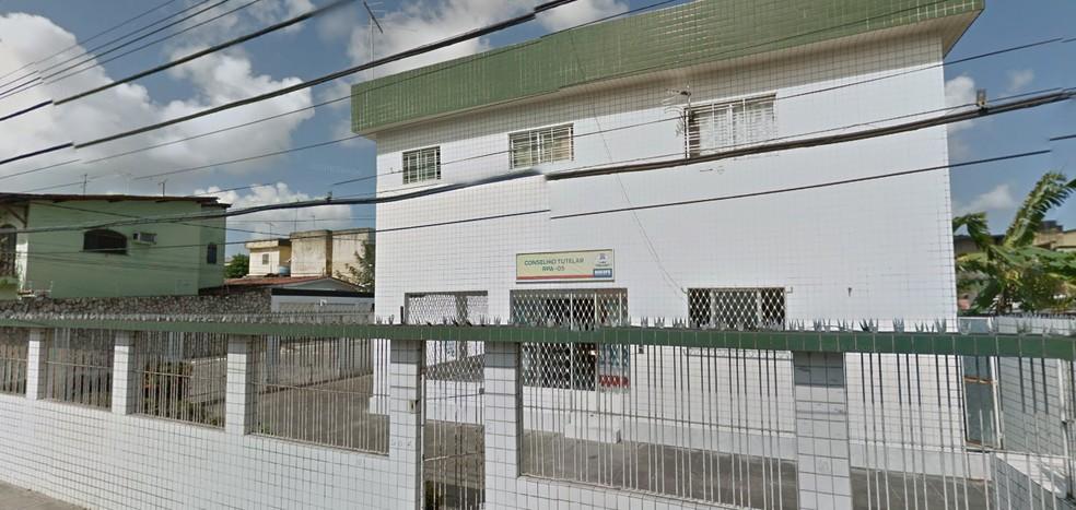 Conselho Tutelar de Areias, no Recife (Foto: Reprodução/Google Maps)