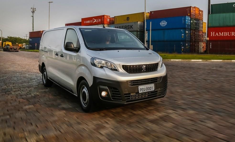 Peugeot Expert começa a ser vendido neste mês, a partir de R$ 79.990 (Foto: Divulgação)