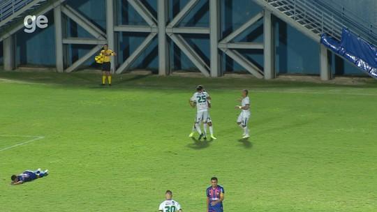 """Autor do gol que eleva chances de título do Manaus, Jean Carlos vibra: """"A gente merecia isso"""""""