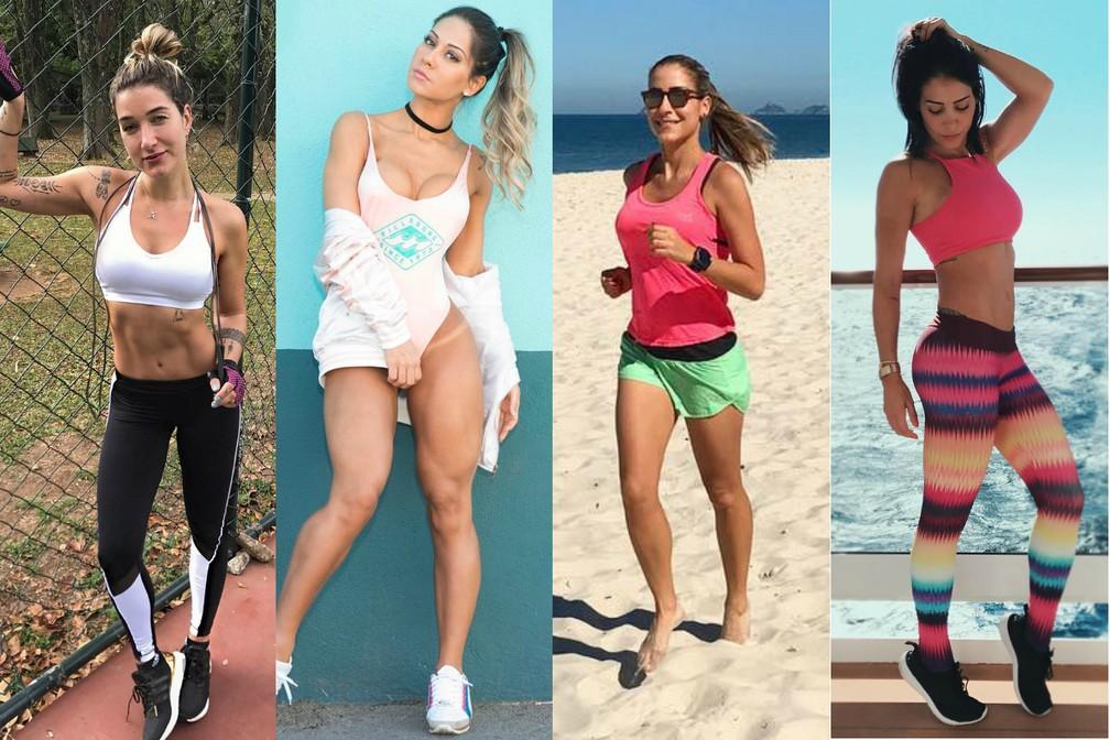 Gabriela Pugliesi, Mayra Cardi, Carol Buffara e Bella Falconi  (Foto: Reprodução/Instagram)