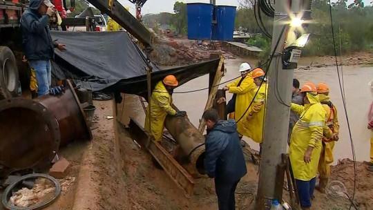 Moradores de 33 bairros enfrentam terceiro dia sem água em Gravataí